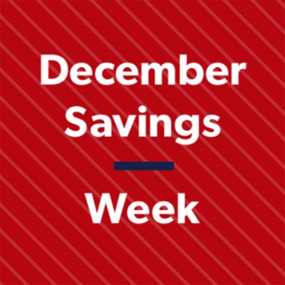 Shop All December Savings