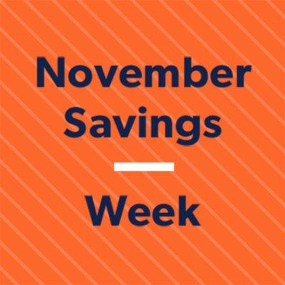 Shop All November Savings