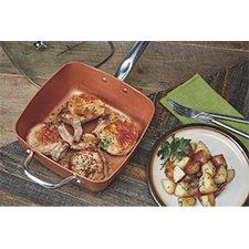 Copper Chef Pro 8 Piece Heavy Duty Cookware Set Sam S Club