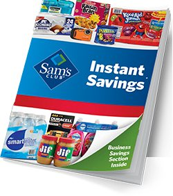 Instant Savings is subject to availability, valid dates, and a limit of 3 items per member. Additional purchases may be made at full retail price, unless otherwise restricted. See program details.