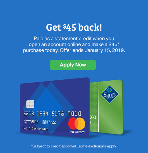 Samsclub Com Credit Login >> Credit Sam S Club