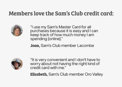 Credit - Sam's Club