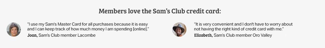 Samsclub Com Credit >> Sam S Club Credit